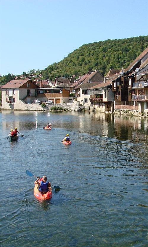 Kayak Val de Loue