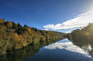 Le doubs rivière de franche-comté
